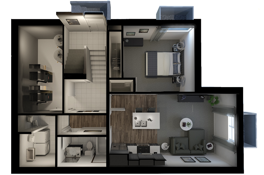 Secondary Suites