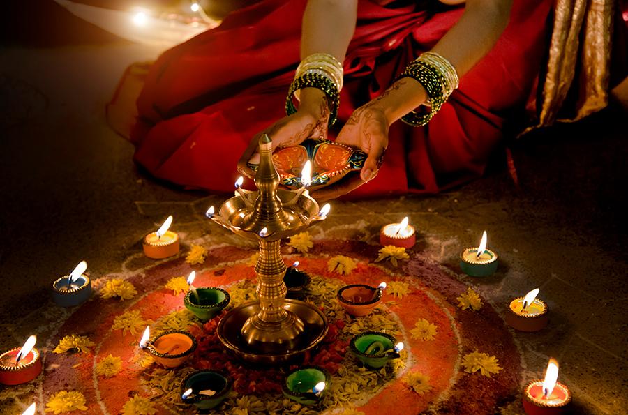 Diwali in Livingston